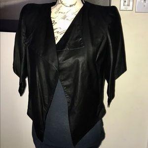 Drkshow Olmar And Mirta Rick Owens Leather Jacket